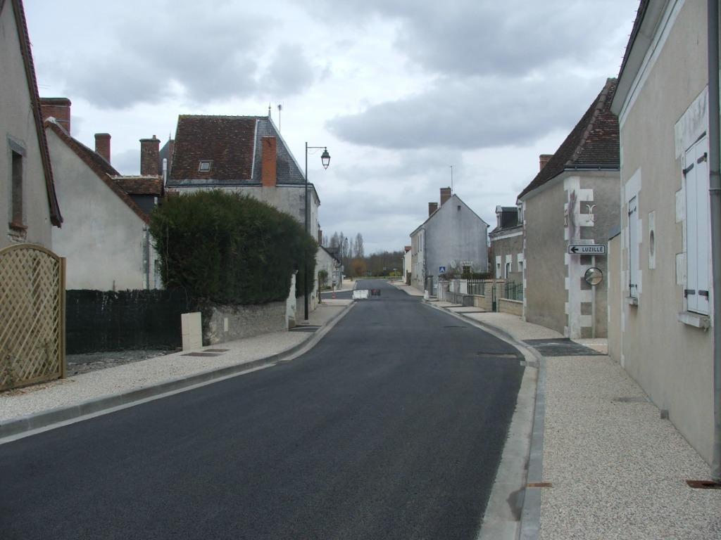 Aménagement Voirie Commune Le Liège